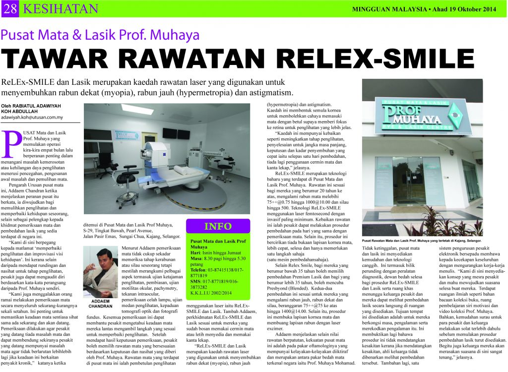 We were on page 28 of Mingguan Malaysia!